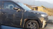 Maruti YBA front fender camouflaged spied