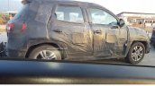 Maruti YBA side camouflaged spied