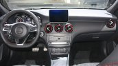 Mercedes A Class facelift dashboard at DIMS 2015