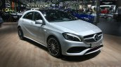 Mercedes A Class facelift front quarter at DIMS 2015