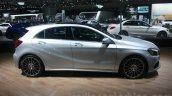 Mercedes A Class facelift side at DIMS 2015