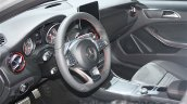 Mercedes A Class facelift steering wheel at DIMS 2015