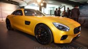 Mercedes AMG GT front quarter close launched in India