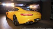 Mercedes AMG GT rear three quarter launched in India