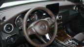 Mercedes GLC steering wheel at DIMS 2015