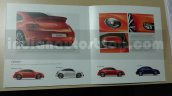 New VW Beetle exterior features brochure leaks