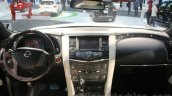 Nissan Patrol Nismo dashboard at DIMS 2015