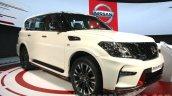 Nissan Patrol Nismo front quarter at DIMS 2015