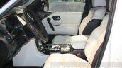 Nissan Patrol Nismo front seats at DIMS 2015