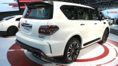 Nissan Patrol Nismo rear quarter at DIMS 2015