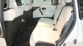 Nissan Patrol Nismo rear seats legroom at DIMS 2015