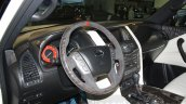 Nissan Patrol Nismo steering wheel at DIMS 2015