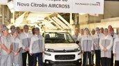 Novo 2016 Citroen Aircross production