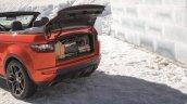 Range Rover Evoque Convertible boot volume unveiled