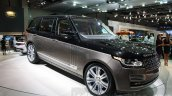 Range Rover SVAutobiography front quarter at DIMS 2015