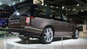 Range Rover SVAutobiography rear quarter at DIMS 2015