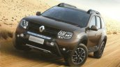 Renault Duster Dakar Edition front three quarter to launch in Brazil