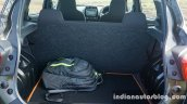 Renault Kwid boot space review