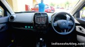 Renault Kwid dashboard review