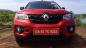 Renault Kwid front review