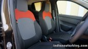 Renault Kwid front seats review
