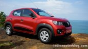 Renault Kwid front three quarter left review