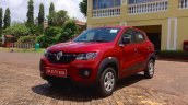 Renault Kwid front three quarters right review
