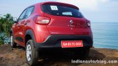 Renault Kwid rear review