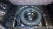 Renault Kwid spare wheel review