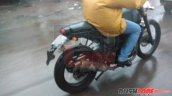 Royal Enfield Himalayan city variant exhaust spied