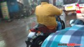 Royal Enfield Himalayan city variant tail light spied