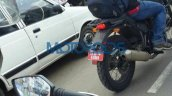 Royal Enfield Himalayan exhaust can spied