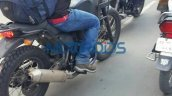 Royal Enfield Himalayan foot-rest position spied