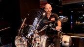 Stefano Pelle at Piaggio Motoplex Pune inauguration
