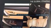 Toyota Corolla Altis Limited Edition interior features brochure leaked