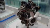 Toyota GD engine 1GD-FTV 2.8-litre fan showcased at TMS 2015