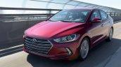 US-spec 2017 Hyundai Elantra front end revealed