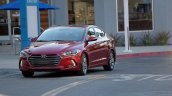 US-spec 2017 Hyundai Elantra front quarter revealed