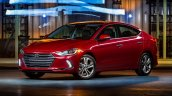US-spec 2017 Hyundai Elantra front three quarter revealed