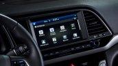 US-spec 2017 Hyundai Elantra infotainment display revealed