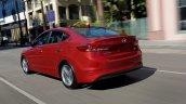 US-spec 2017 Hyundai Elantra rear three quarter revealed