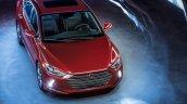 US-spec 2017 Hyundai Elantra top view revealed