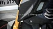 Yamaha M-Slaz USD fork spied in Indonesia