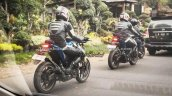 Yamaha M-Slaz rear quarter spied in Indonesia