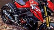 Yamaha M-Slaz red seats Thailand