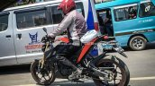 Yamaha M-Slaz side spied in Indonesia