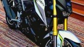 Yamaha M-Slaz silver green inverted fork Thailand