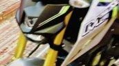 Yamaha M-Slaz silver green tank fin Thailand