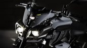 Yamaha MT-10 black head lamp unveiled at EICMA 2015