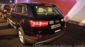 2016 Audi Q7 rear quarter launched in India